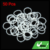 50pcs Silicone Rubber O Ring Washer Car Air Conditioning Gasket Sealing 22 x 2mm