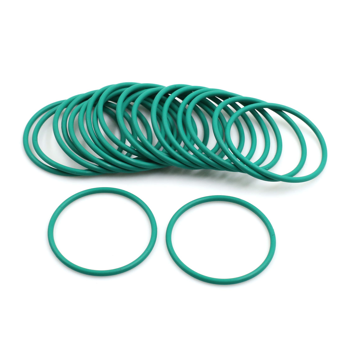 20pcs Green Universal FKM O-Ring Sealing Gasket Washer for Car 36mm x 2mm