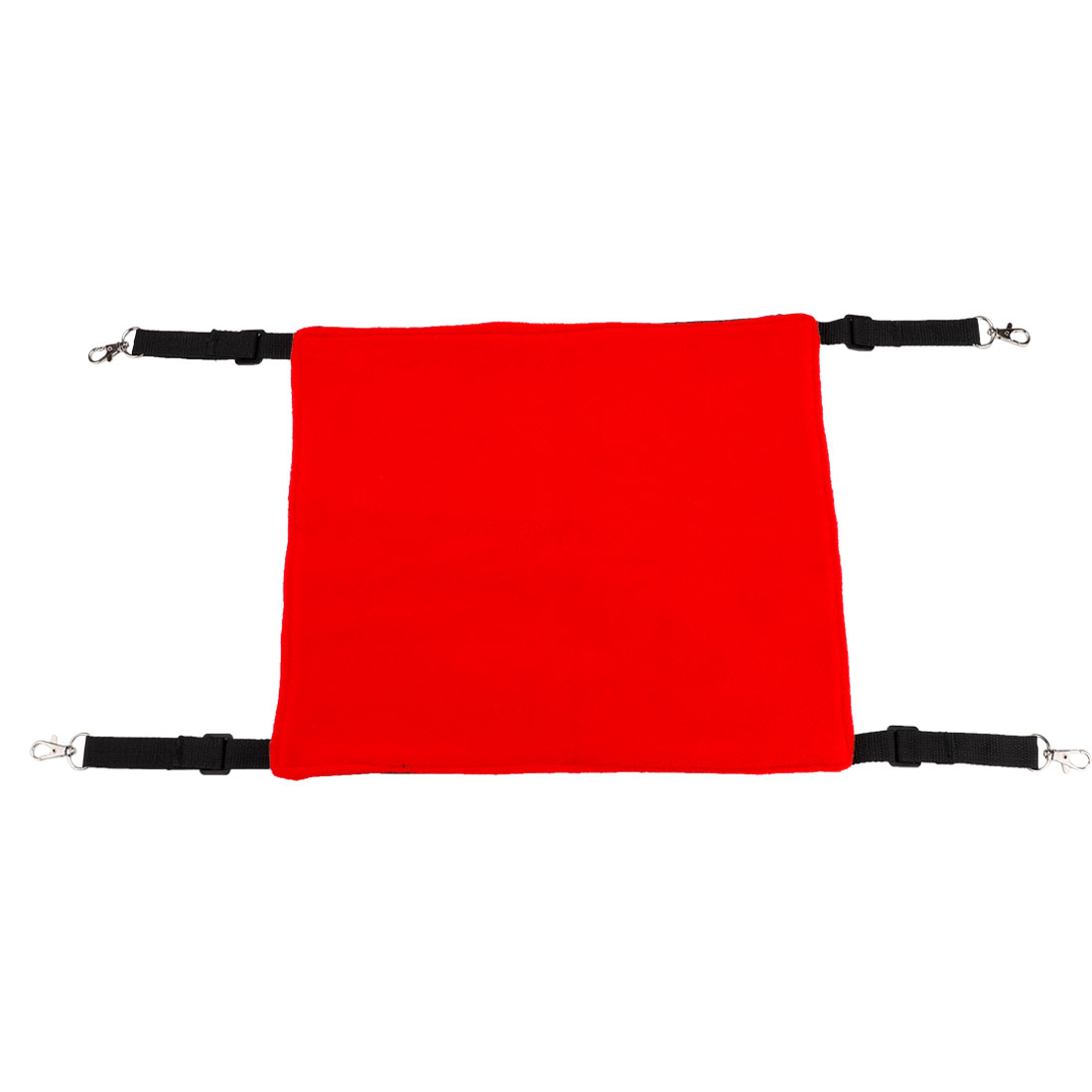 Red Black Pet Cage Hammock Cat Bed for Indoor Cat Holds Small Dog M