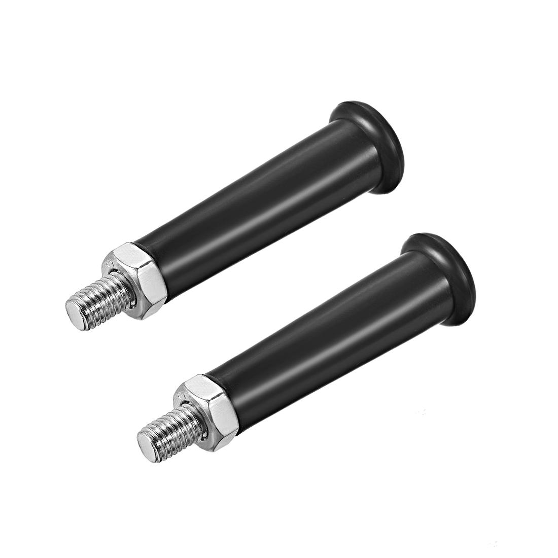 Clamping Handles Screw Knobs Handle M10 x 50mm Revolving Handle Grip 2pcs