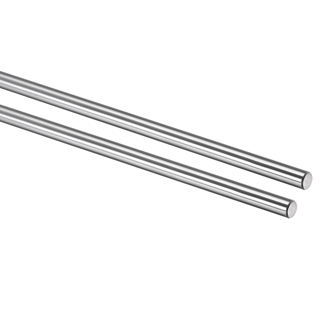 8mm x 301mm Hardened Rod Chrome Plated Linear Motion Shaft / Guide 2pcs