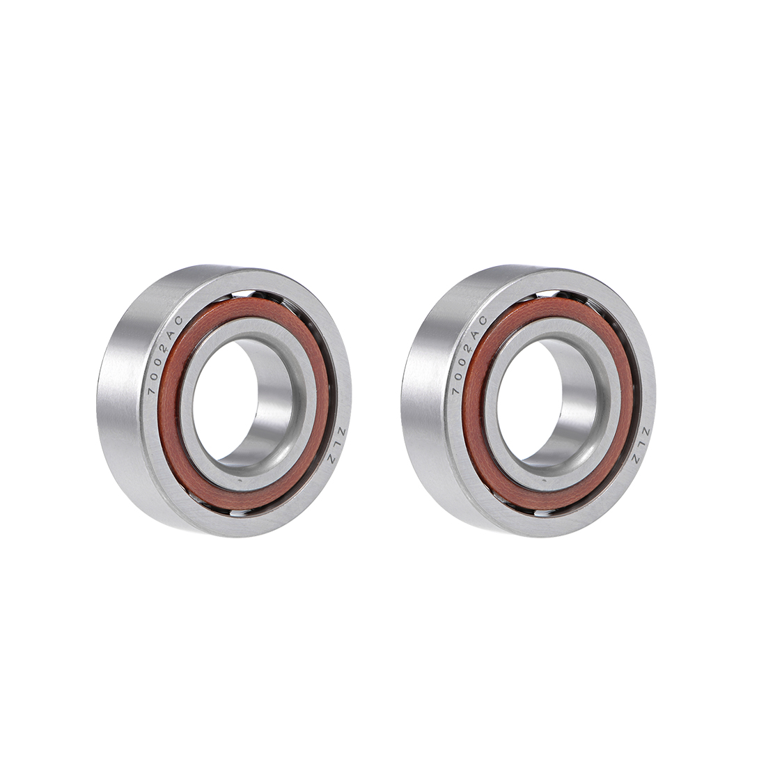 7002AC Angular Contact Ball Bearing 15x32x9mm, Single Row, Open Type 2pcs