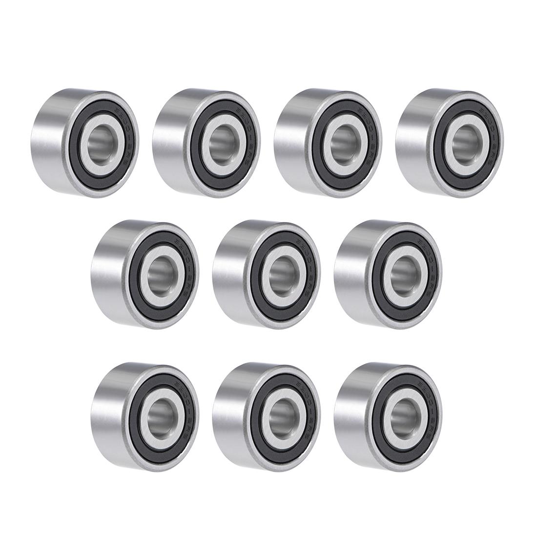 3200-2RS Angular Contact Ball Bearing 10X30X14.3mm Sealed Bearings 5200-2RS 5pcs