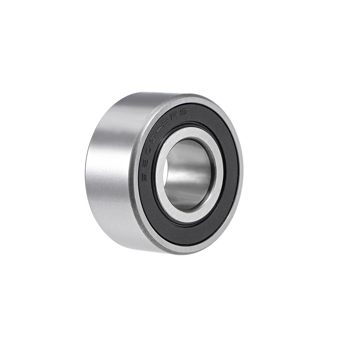 3203-2RS Angular Contact Ball Bearing 17x40x17.5mm Sealed Bearings 5203-2RS