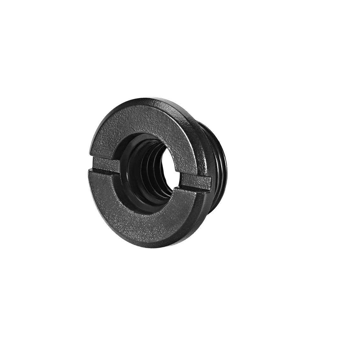 """3/8 Female To 5/8"""" Male Threaded Screw Adapter For Mic Stand Plastic 1pcs"""