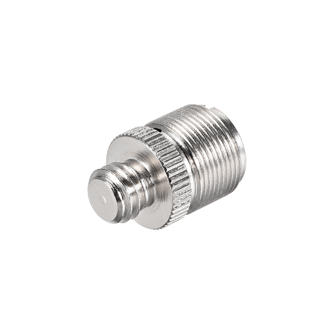 """3/8 Male To 5/8"""" Male Threaded Screw Adapter For Microphone Tripod Stand 1pcs"""
