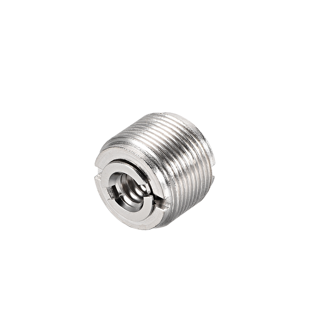"""1/4 Female To 5/8"""" Male Threaded Screw Adapter For Microphone Tripod Stand 1pcs"""