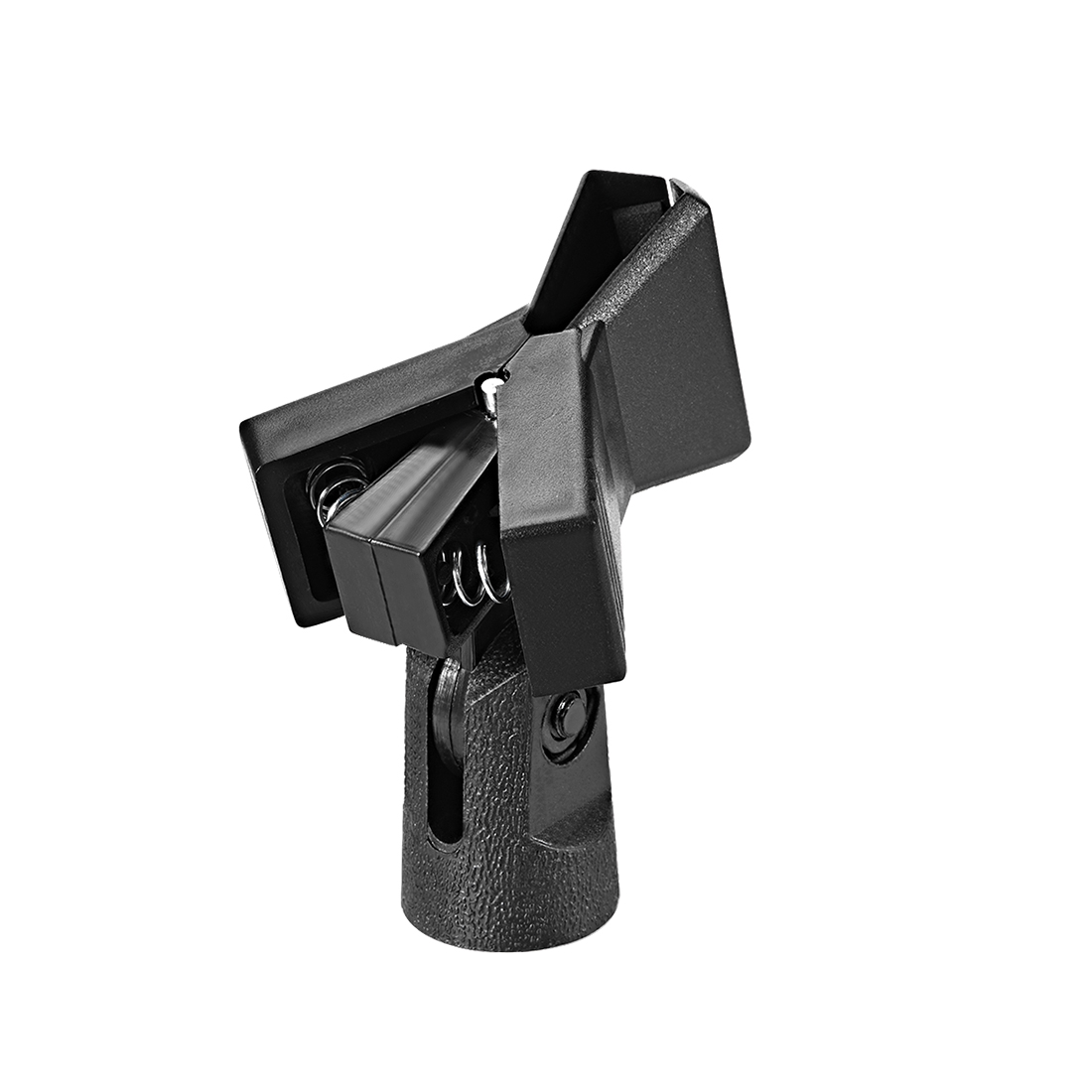 Universal Microphone Mic Clip Holder for 40mm Mic Stand 15mm Thread Dia