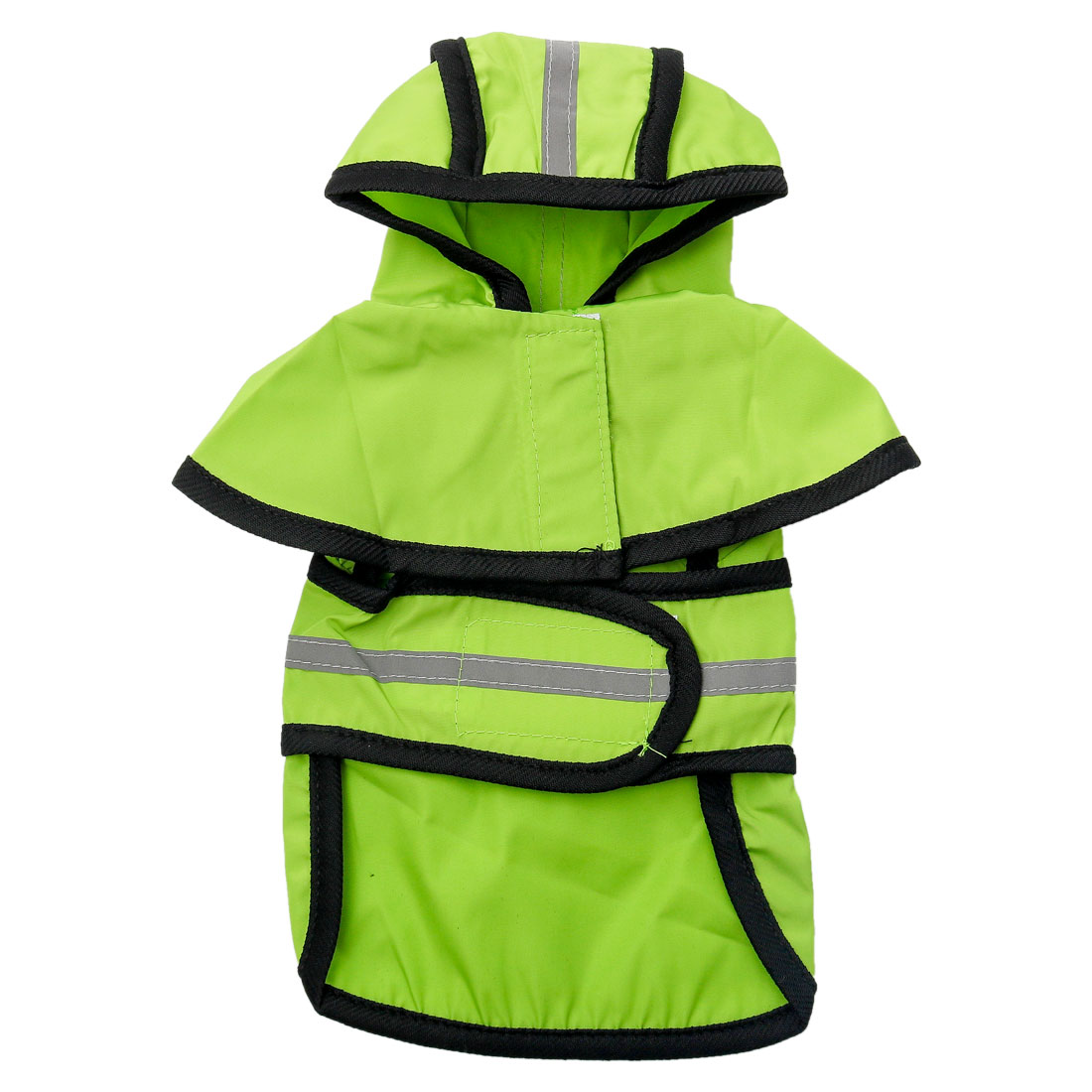 Pet Dogs Raincoat Rain Jacket Poncho Cloth Water-resistant Rainwears Green 4XL