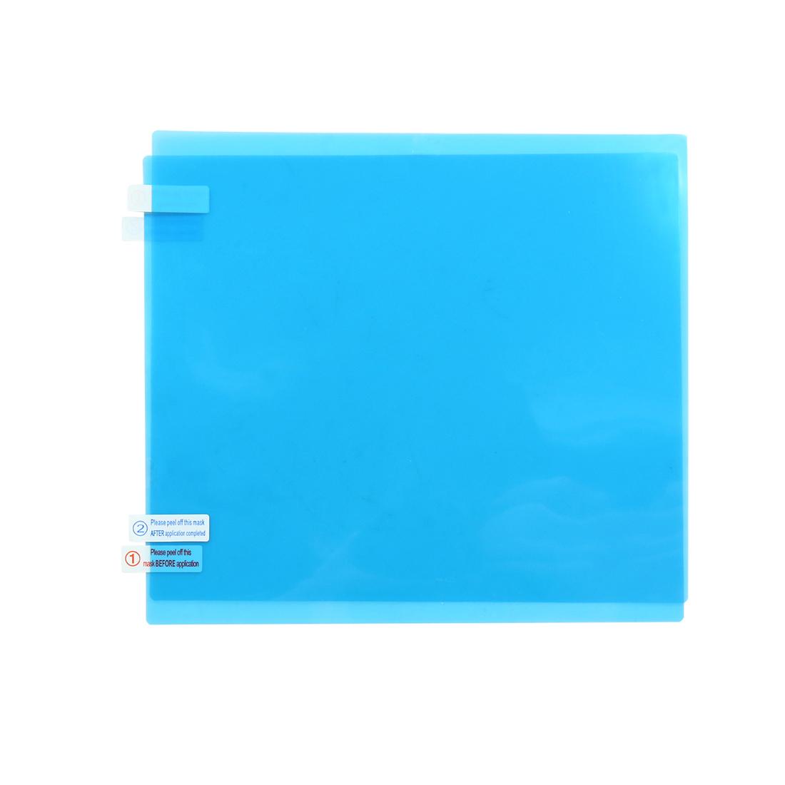 2pcs 20 x 17.5cm Auto Car Glass Anti-Rain Fog Waterproof Clear Protector Film