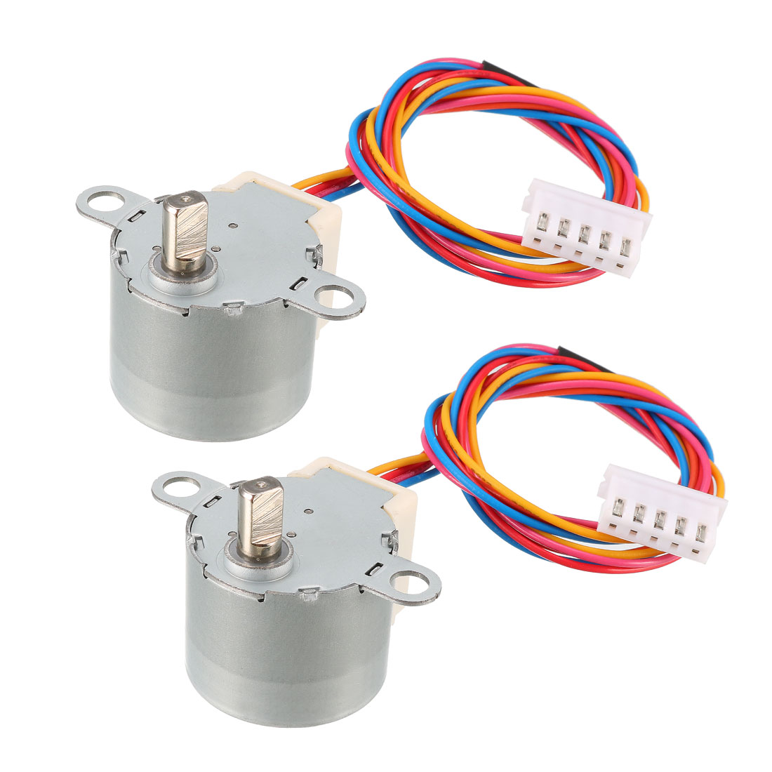 2PCS 24BYJ48 DC 12V Micro Reduction Stepper Stepping Motor 4-Phase 5-Wire