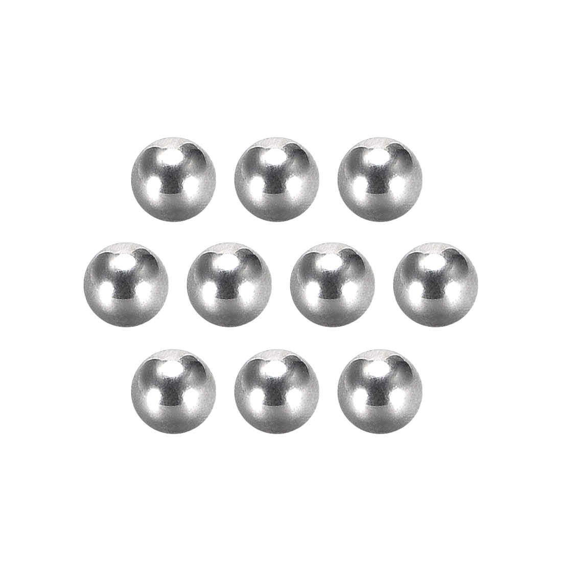 Precision 304 Stainless Steel Bearing Balls 1/8 Inch G5 10pcs
