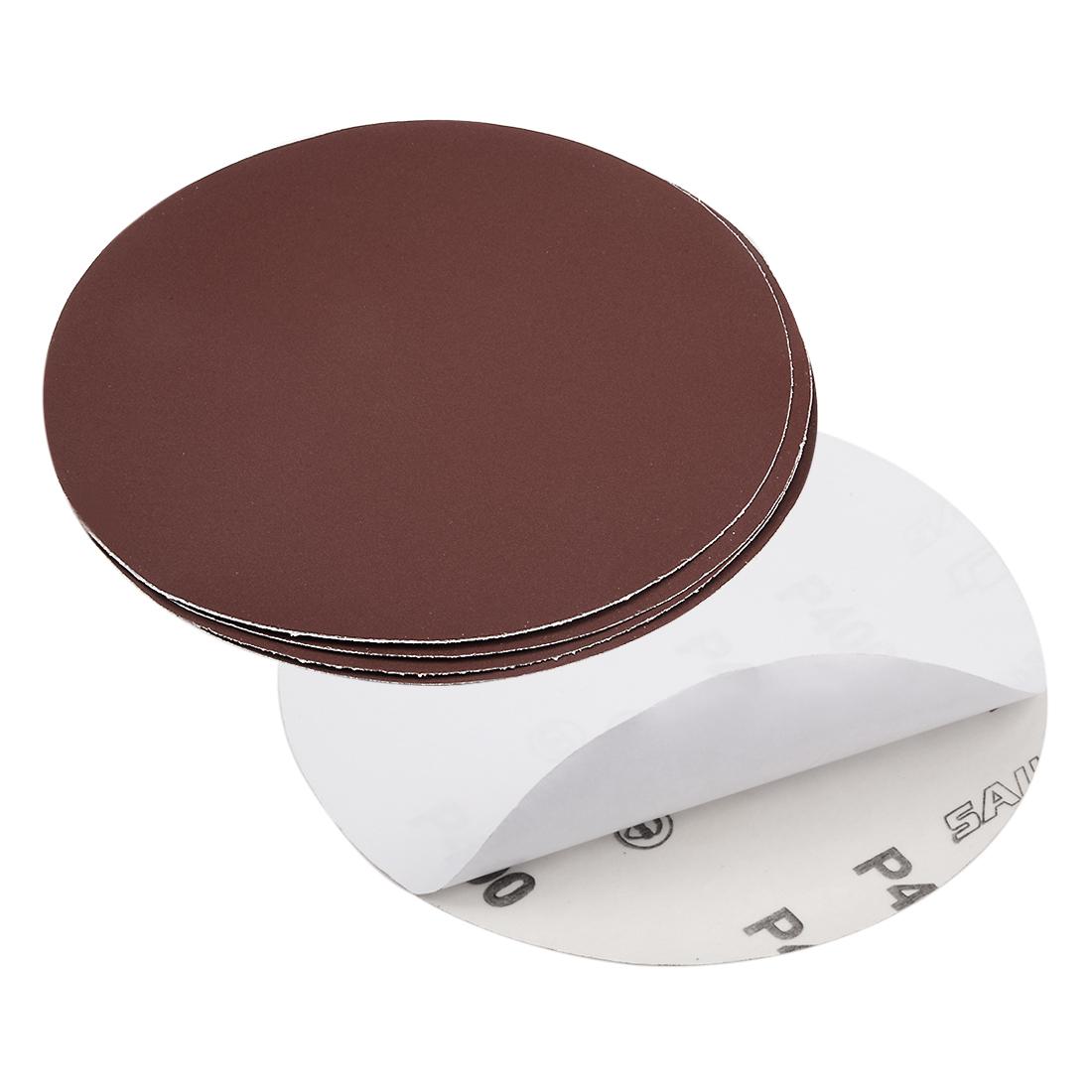 6-inch 400-Grits PSA Sanding Disc, Adhesive-Backed for Orbital Sander 5pcs