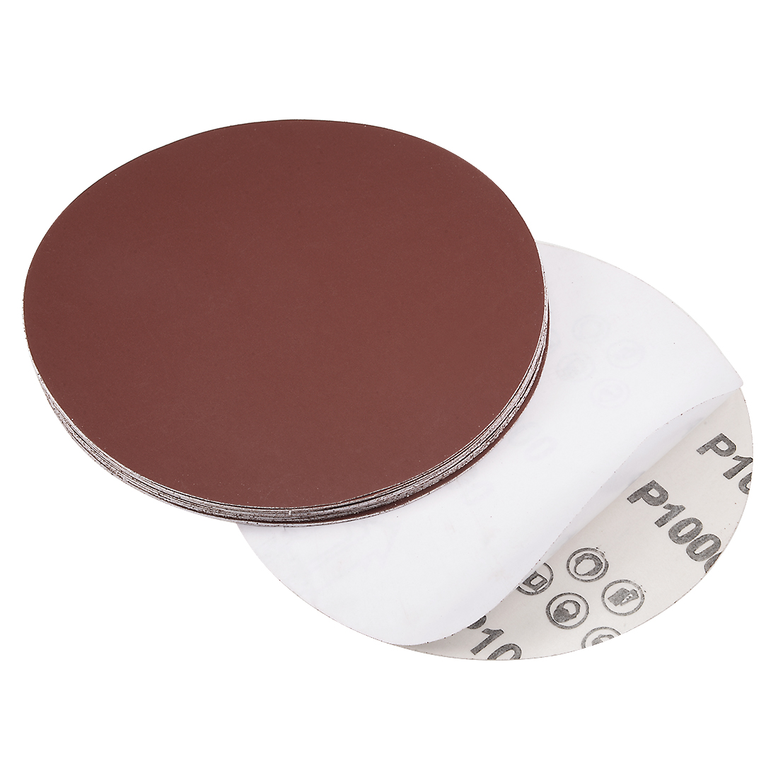 6-inch 1000-Grits PSA Sanding Disc, Adhesive-Backed for Orbital Sander 20pcs