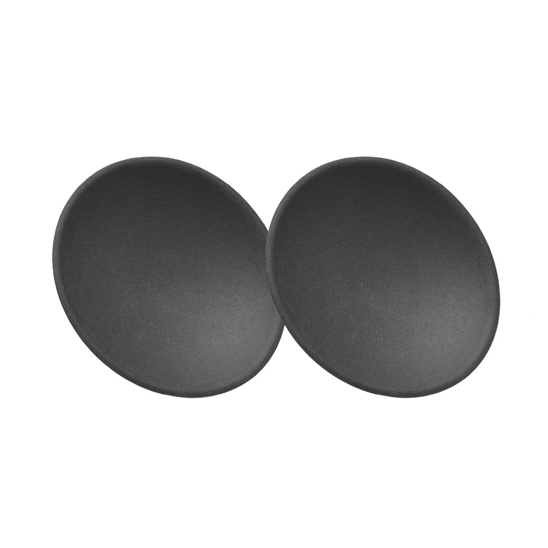 "Speaker Dust Cap 115mm/4.5"" Diameter Subwoofer Paper Dome Coil Cover Caps 2 Pcs"