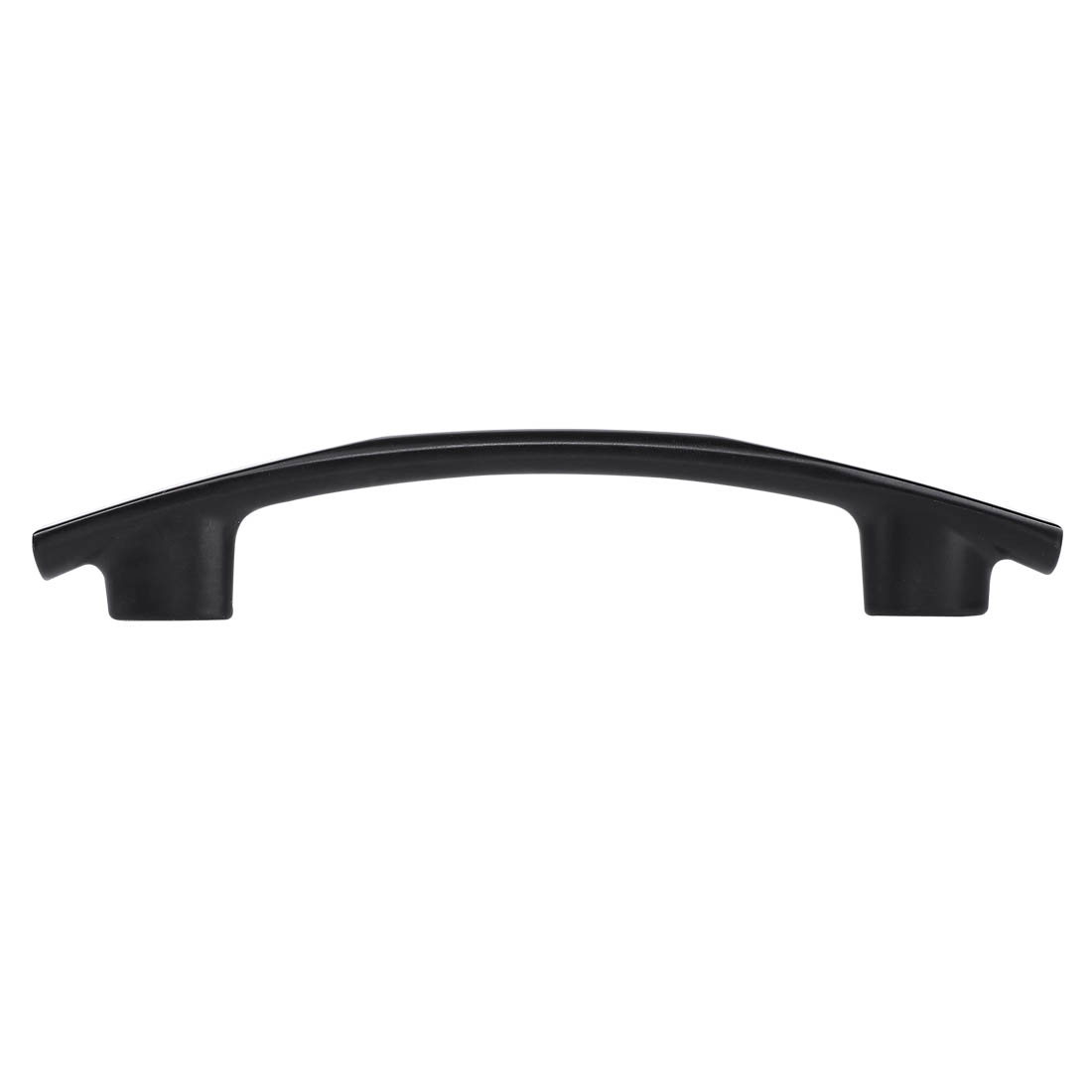 """Cabinet Handle Pull 3.8"""" Hole Center Painting for Cupboard Dresser, Black"""