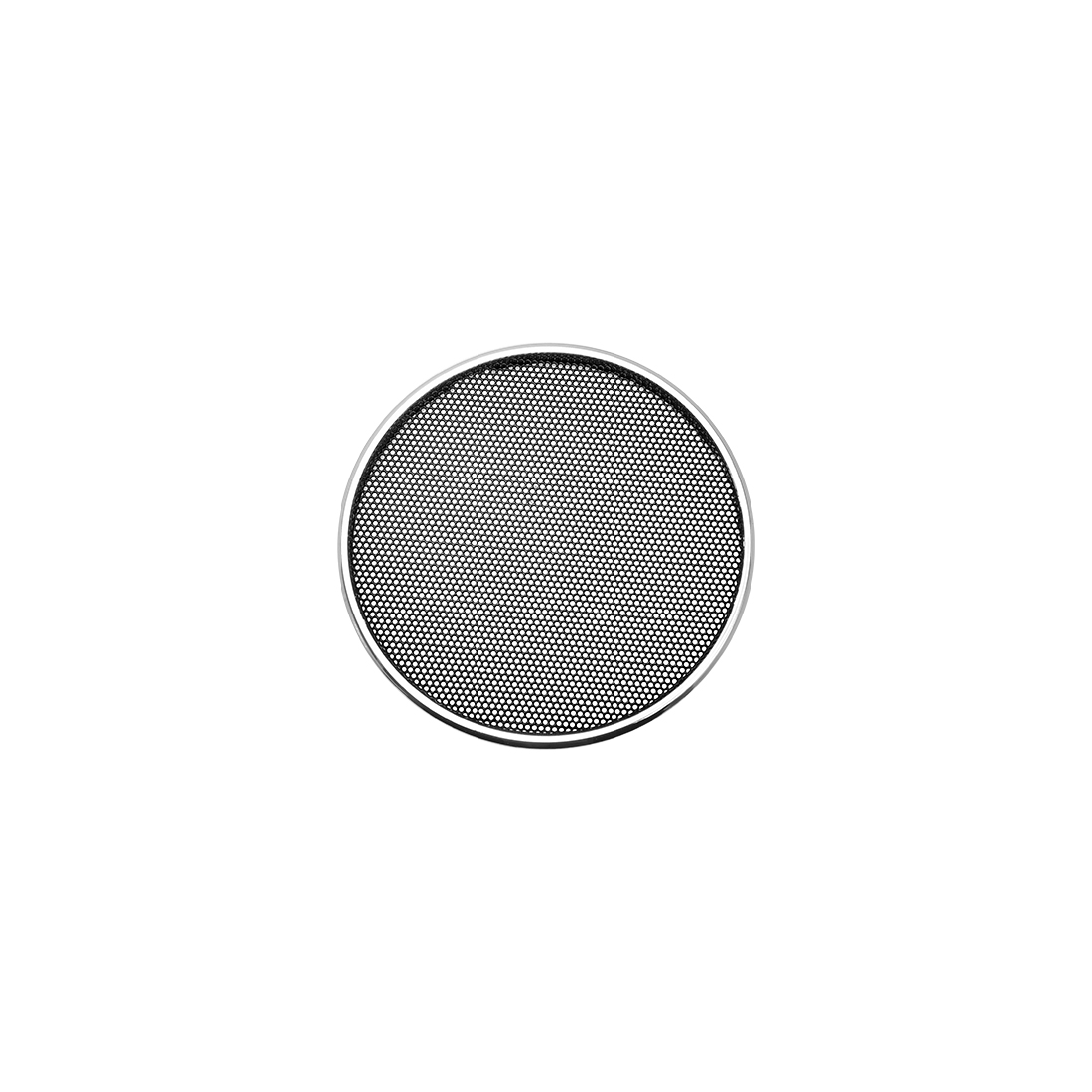 "2"" Speaker Grill Mesh Decorative Circle Woofer Guard Protector Cover Silver"