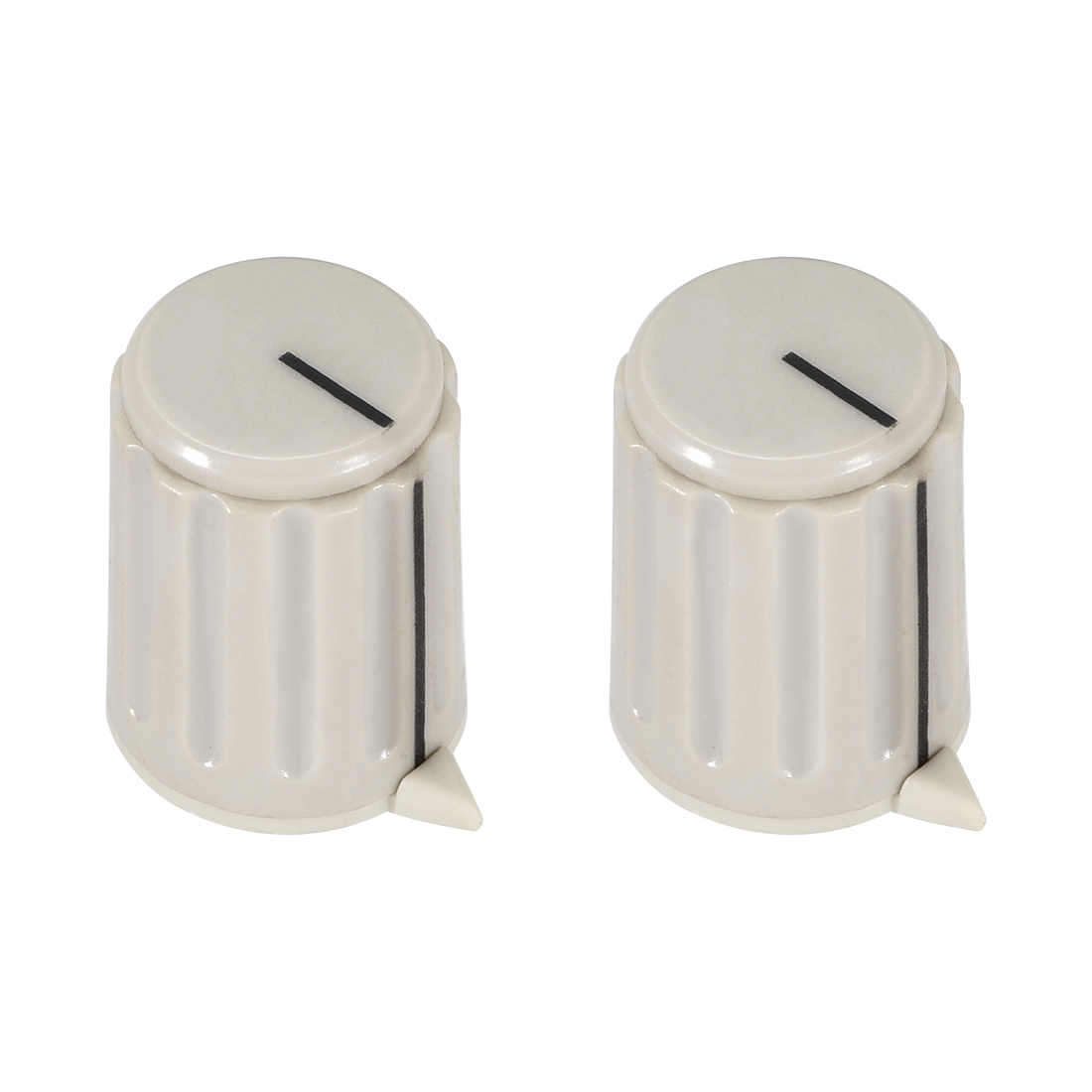 2pcs, 4mm Potentiometer Control Knobs For Electric Guitar Volume Tone Knobs Gray