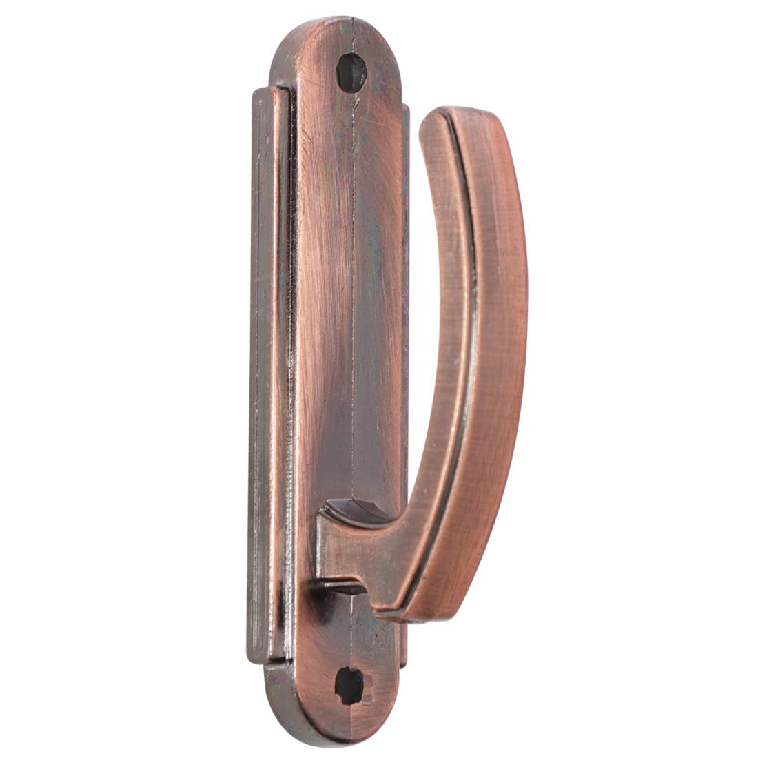Curtain Tieback Hooks, Zinc Alloy Holdback Screen Holder Hanger, Copper Tone