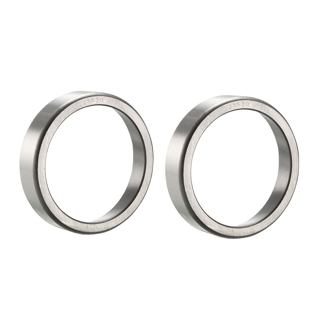 "25520 Tapered Roller Bearing Outer Race Cup 3.265"" O.D., 0.75"" Width 2pcs"