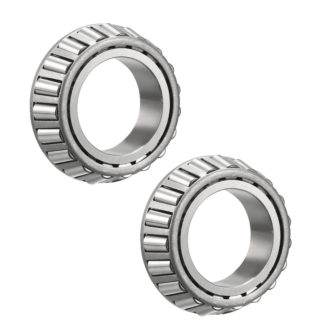 "8125 Tapered Roller Bearing Single Cone 1.25"" Bore 0.594"" Width 2pcs"