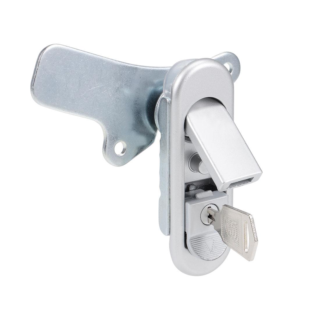 Electric Cabinet Panel Cam Lock Push Button Pop Up Type Door Lock w Key