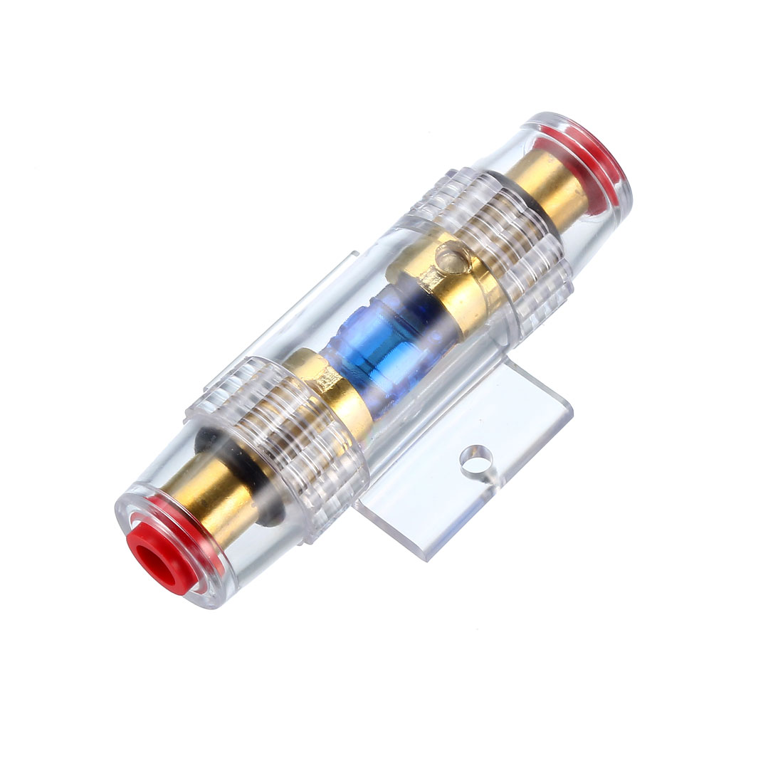Inline Mini ANL Fuse Holder 4/8 Gauge AWG Distribution Block with 60A Fuse