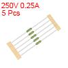Pico Fuse 250V 0.25A Fast Blow Axial Leaded 3x62mm Telecom Communication 5pcs