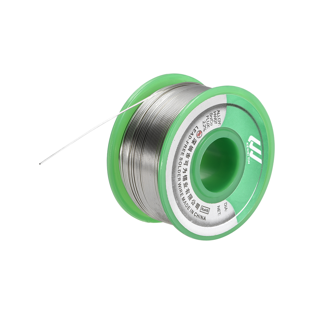 Lead Free Solder Wire 0.6mm 100g Sn99.3% Cu0.7% with Rosin Core for Soldering