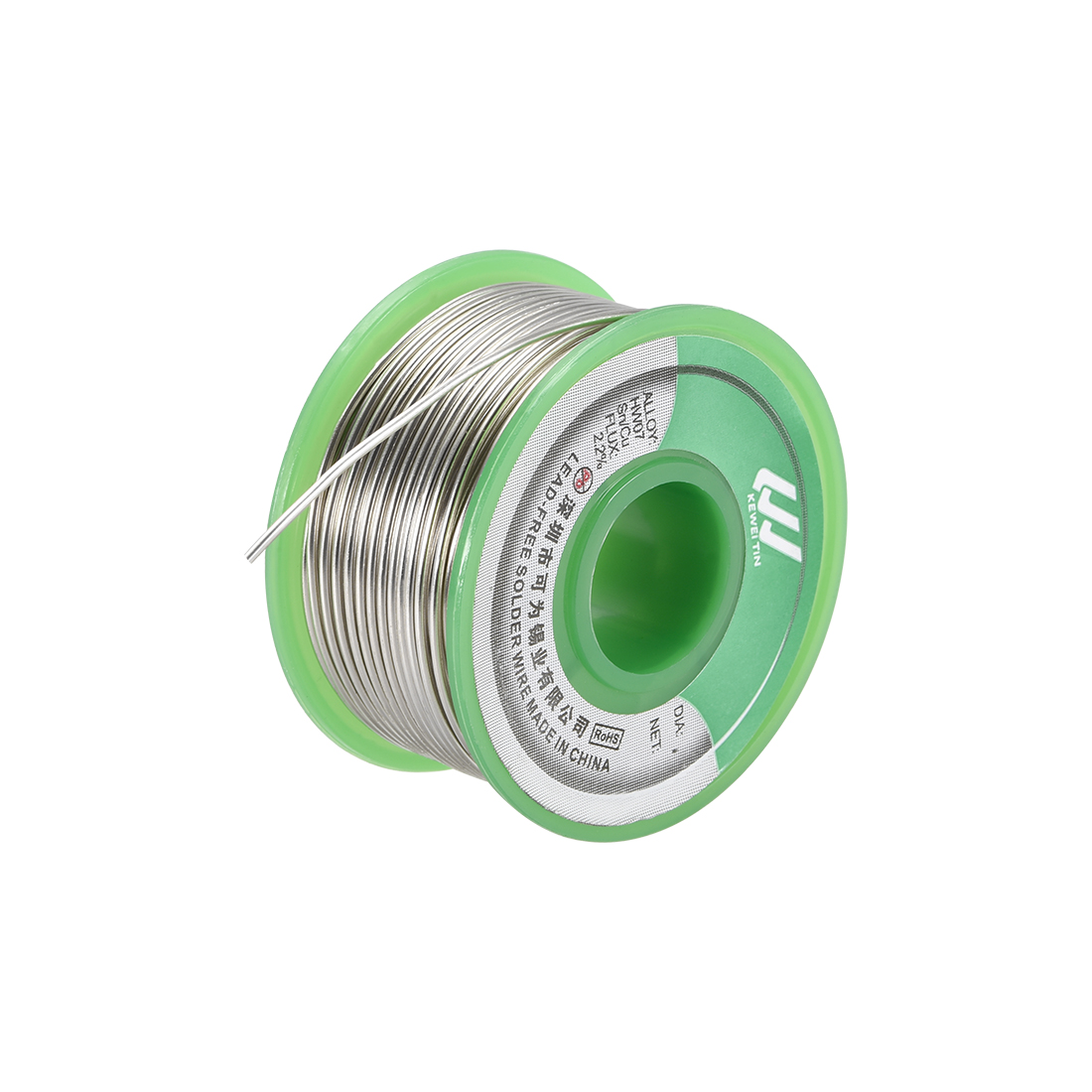 Lead Free Solder Wire 1.2mm 100g Sn99.3% Cu0.7% with Rosin Core for Soldering