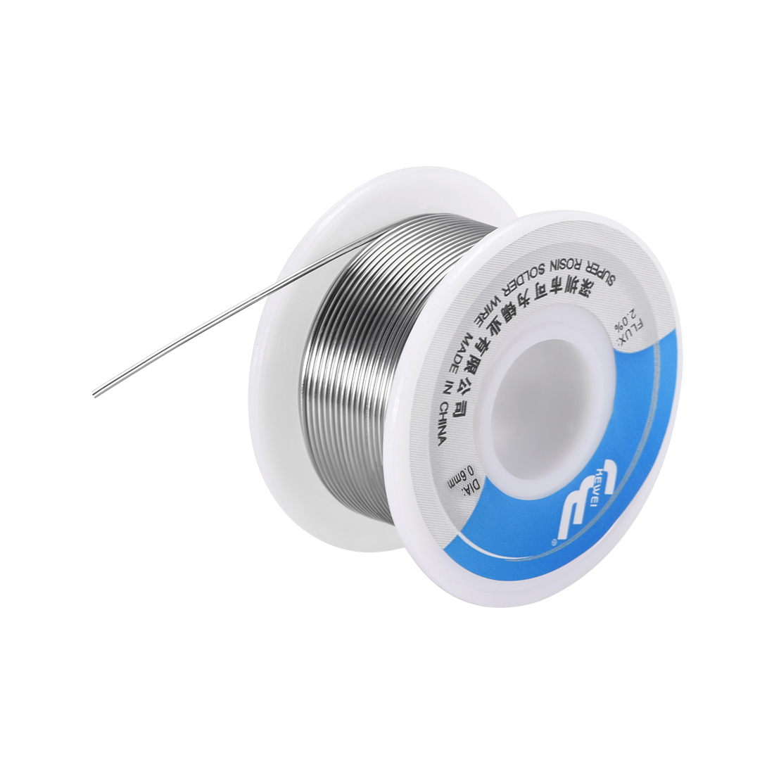 Solder Wire 0.6mm 100g Sn63% Pb37% with Rosin Core for Electrical Soldering