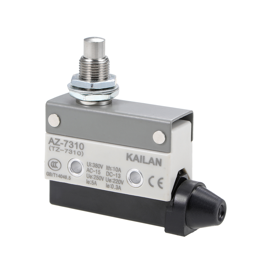 AZ-7310 Limit Switch, TZ-7310 Push Plunger Micro Momentary Switches 1NC+1NO