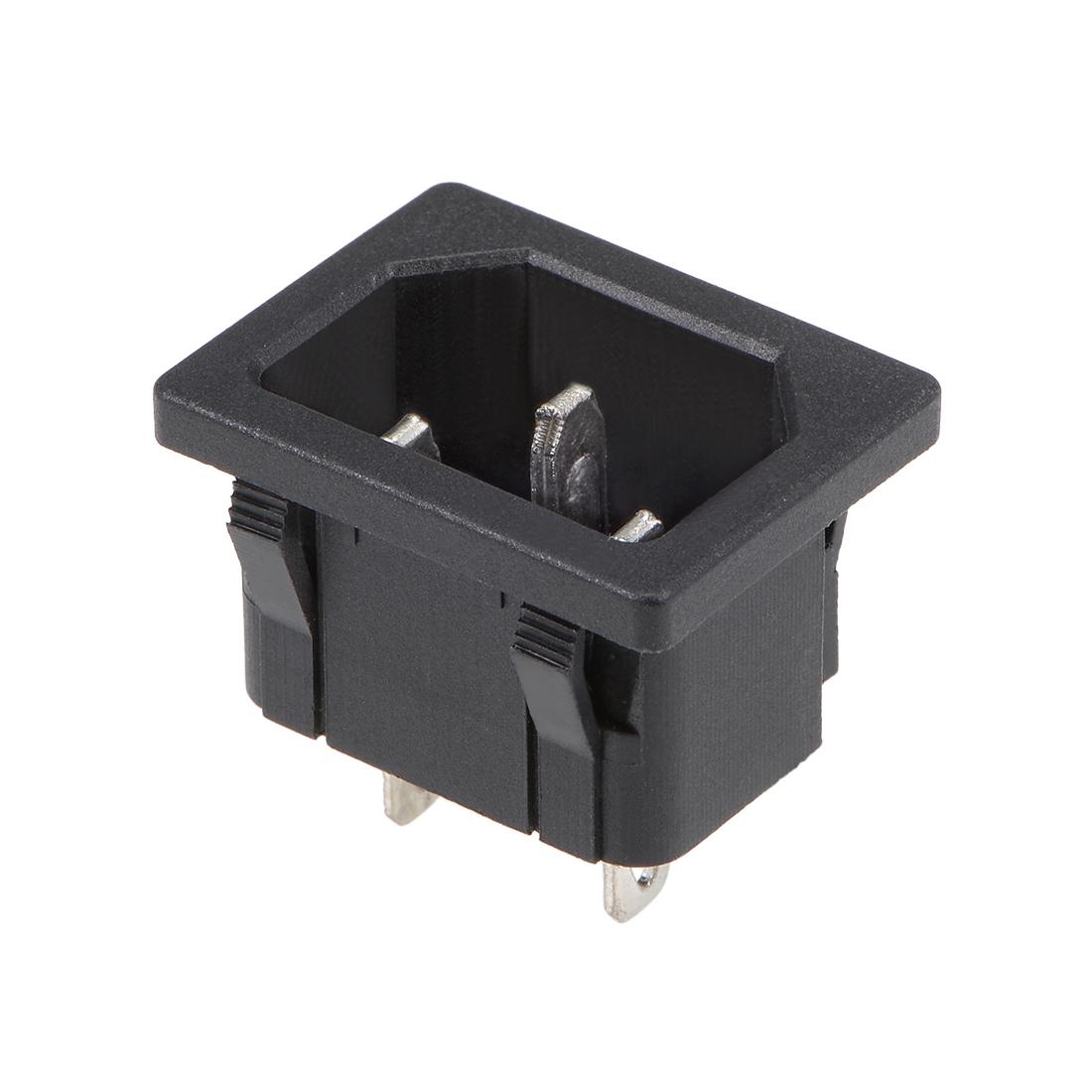 IEC 320 C14 Inlet Socket, Power Module Adapter Male Socket AC 250V 10A