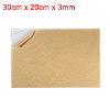Acrylic Plexiglass Sheet,Clear,3mm Thick,30cm x 20cm,Plastic Board