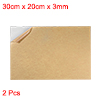 Acrylic Plexiglass Sheet,Clear,3mm Thick,30cm x 20cm,Plastic Board 2pcs