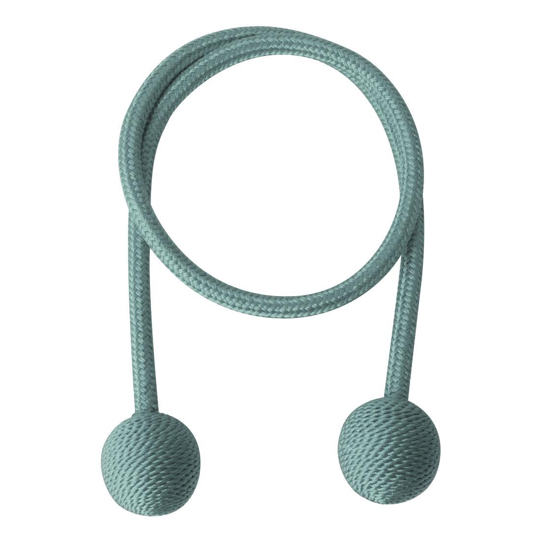 "Curtain Tieback 25.6"" Holdback Decorative Rope Curtain Holders, Blue"