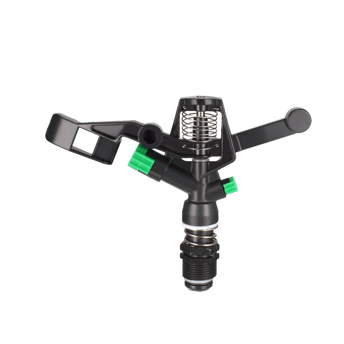 Rotate Rocker Arm Sprinkler, 3/4BSPF Zinc Alloy Spray Nozzle for Irrigation
