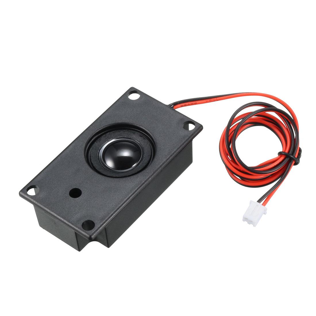 2 Watts 3 Ohm 2Pin Connect Notebook Magnetic Speaker Audio Amplifier Loudspeaker