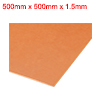 1.5mm x500mm x 500mm Bakelite Phenolic Resin Flat Plate Sheet for PCB Mechanical