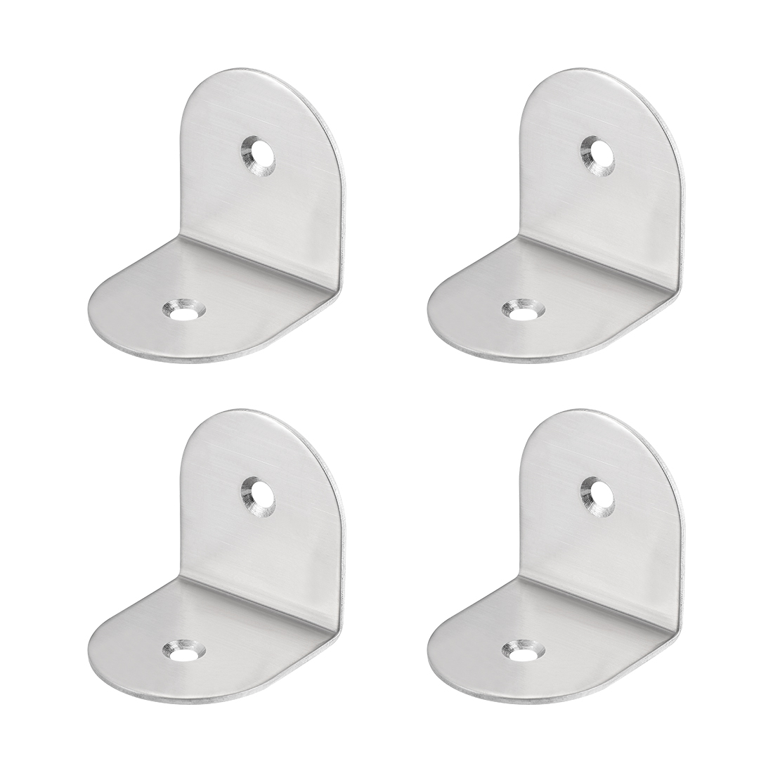 Corner Brace, 40mm x 41mm x 1.5mm Stainless Steel Right Angle Bracket, 4 Pcs