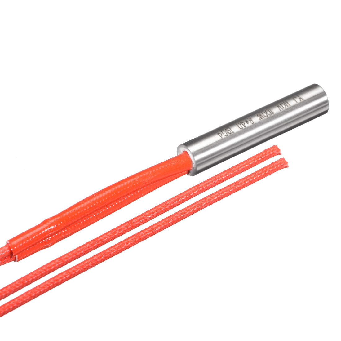 Cartridge Heater AC 110V 100w Stainless Steel Heating Element 8mmx40mm