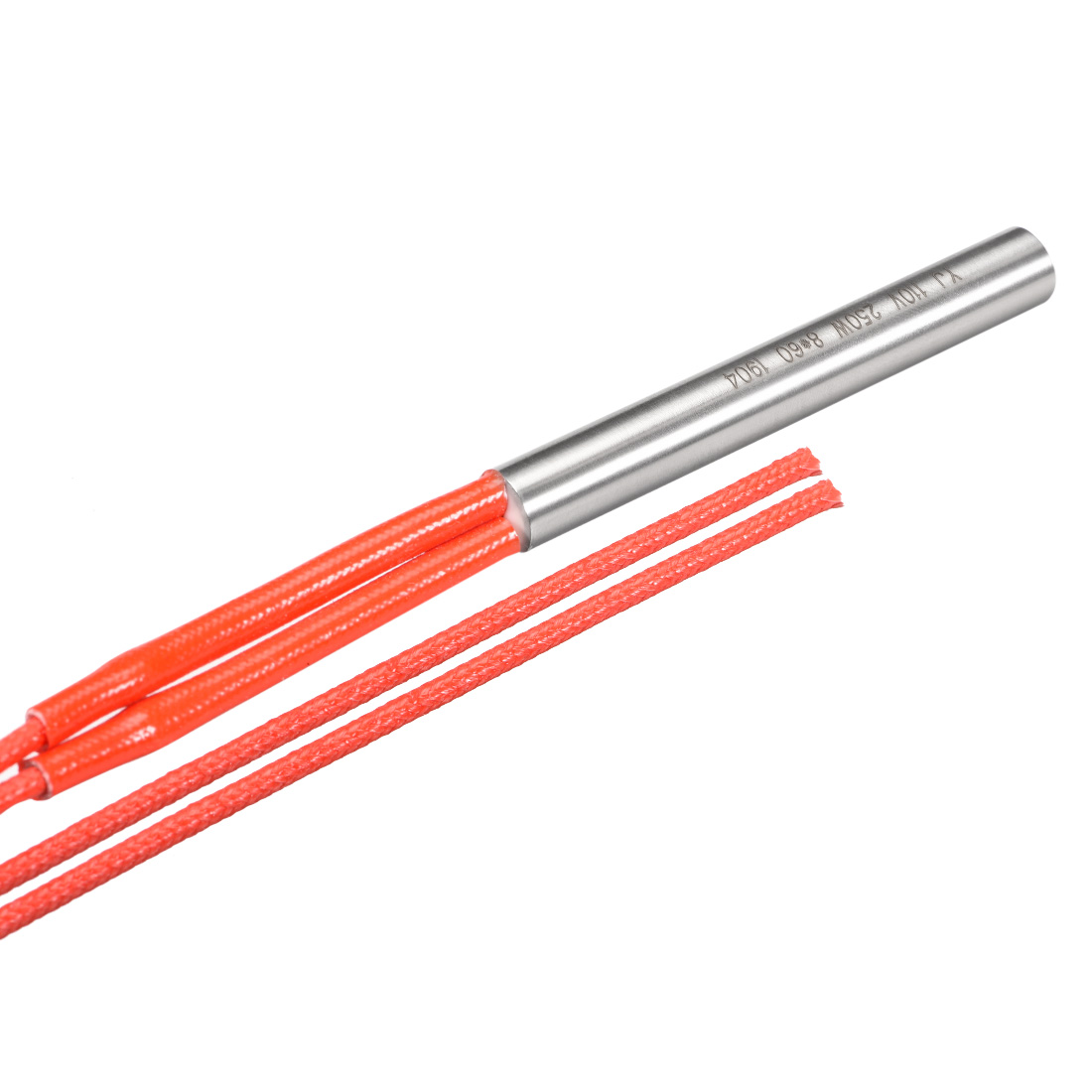Cartridge Heater AC 110V 250w Stainless Steel Heating Element 8mmx60mm