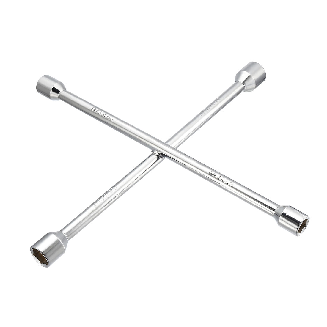 Lug Wrench - 16-inch Universal 4-Way Cross Socket Spanner - Car Tire Repair Tool
