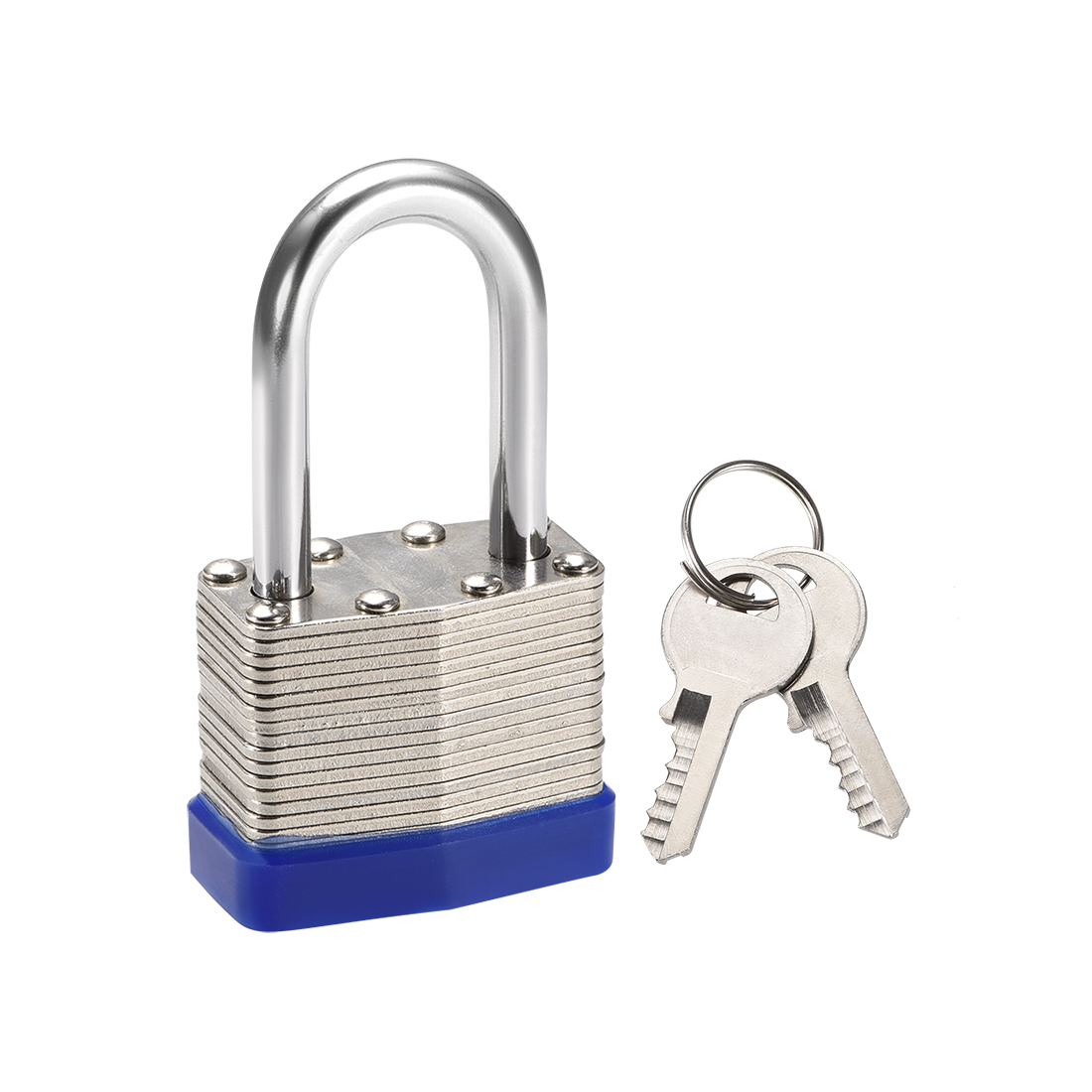 1-1/2 Inch Shackle Key Different Safety Padlock Steel Lock