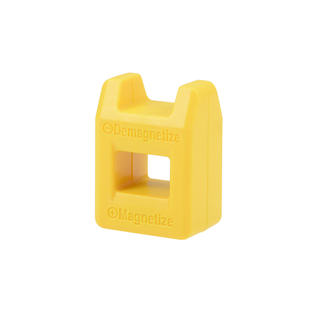 Magnetizer Demagnetizer for Screwdriver Bits Tips Screw Driver Magnetic Yellow