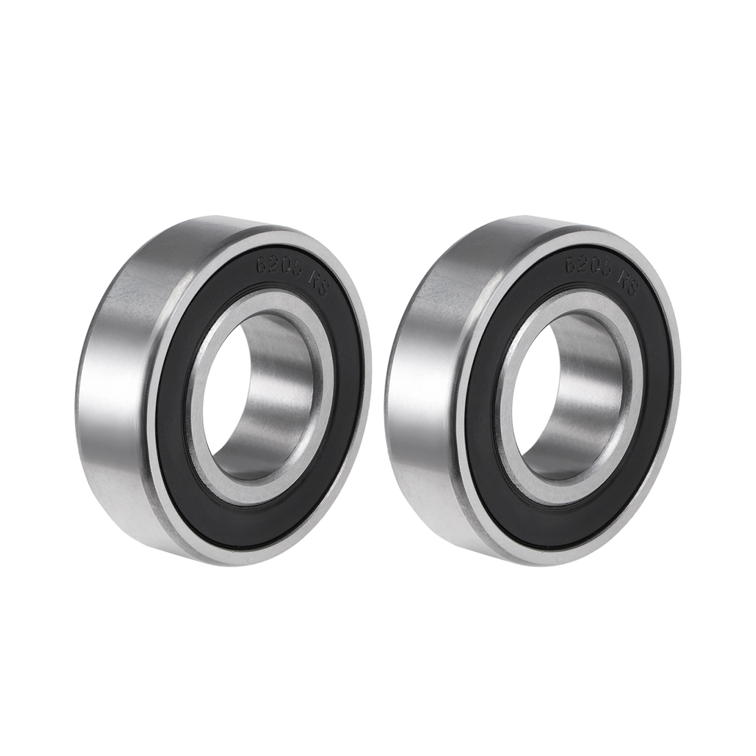 6205-2RS Ball Bearing 25x52x15mm Double Sealed ABEC-3 Bearings 2pcs