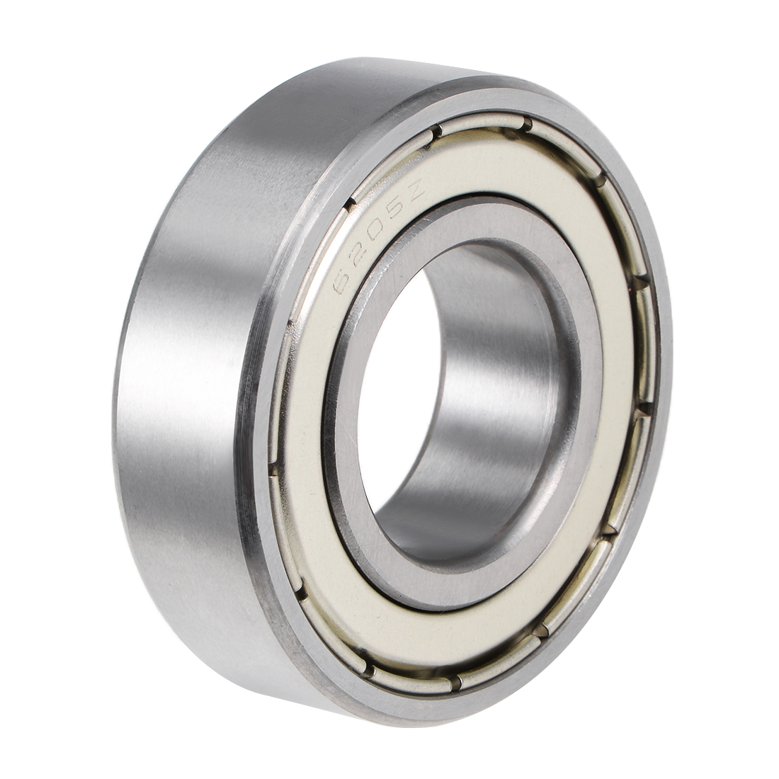 6205ZZ Ball Bearing 25x52x15mm Double Shielded ABEC-1 Bearings