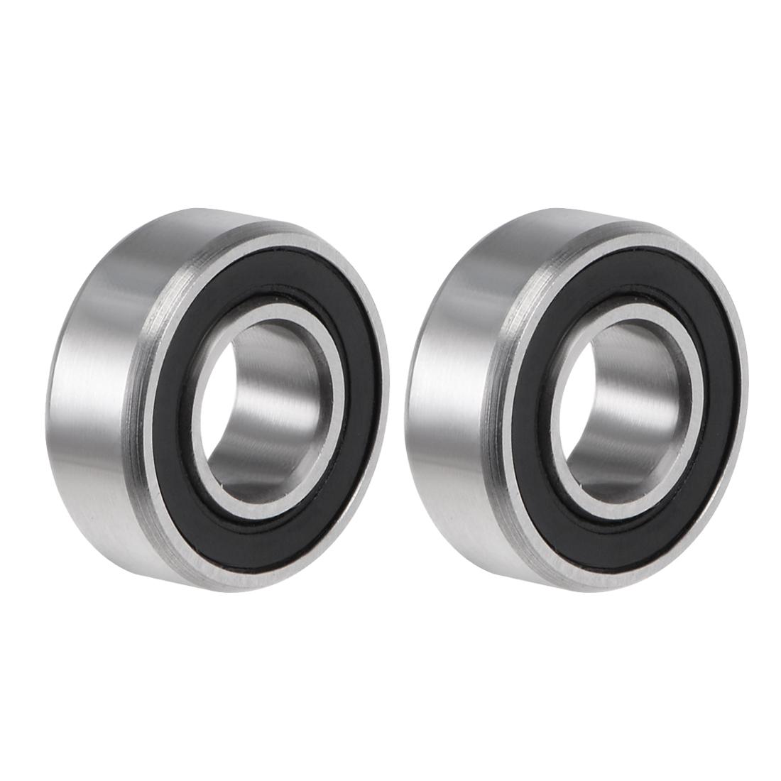MR115-2RS Ball Bearing 5x11x4mm Double Sealed ABEC-3 Bearings 2pcs
