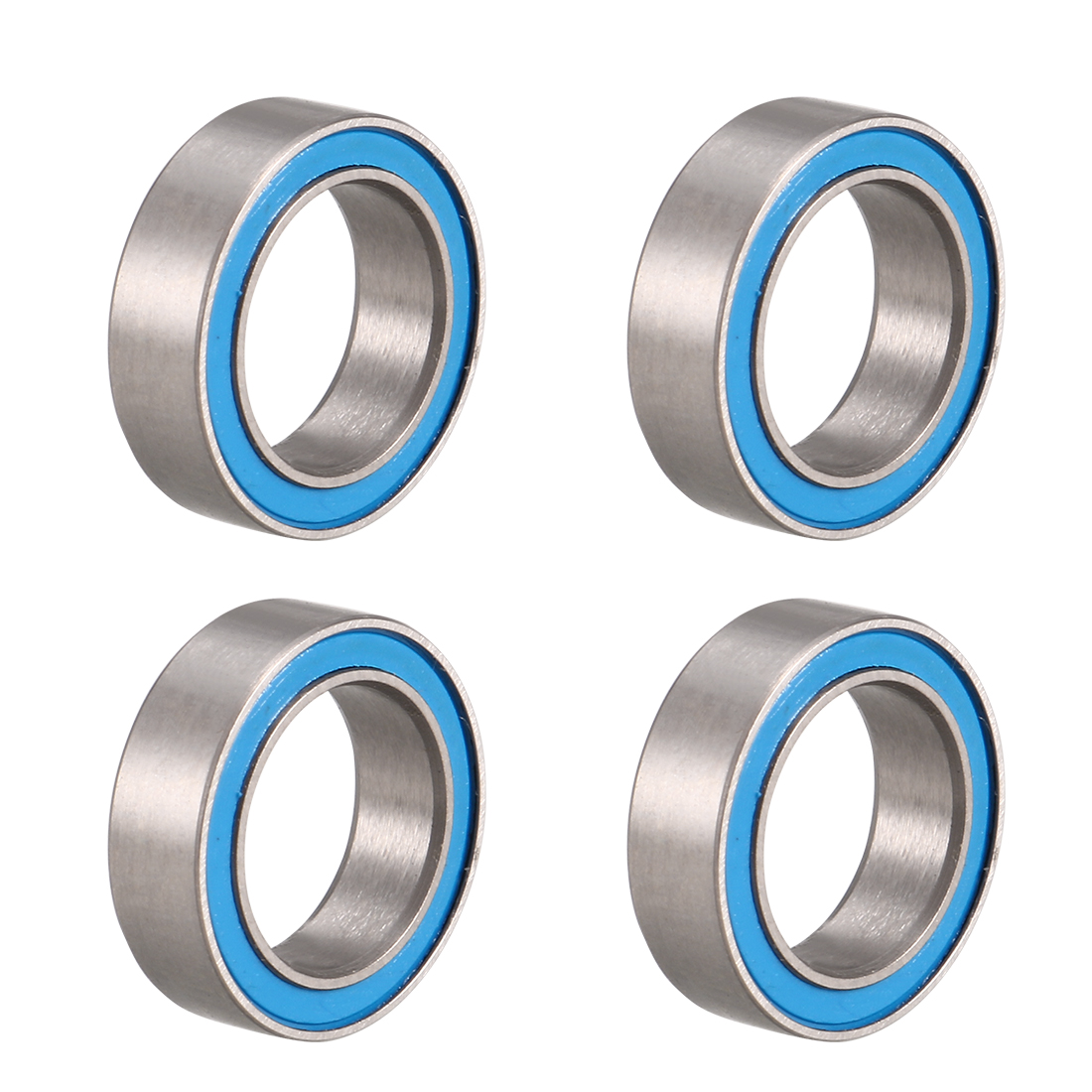 MR128-2RS Ball Bearing 8x12x3.5mm Double Sealed ABEC-3 Bearings 4pcs