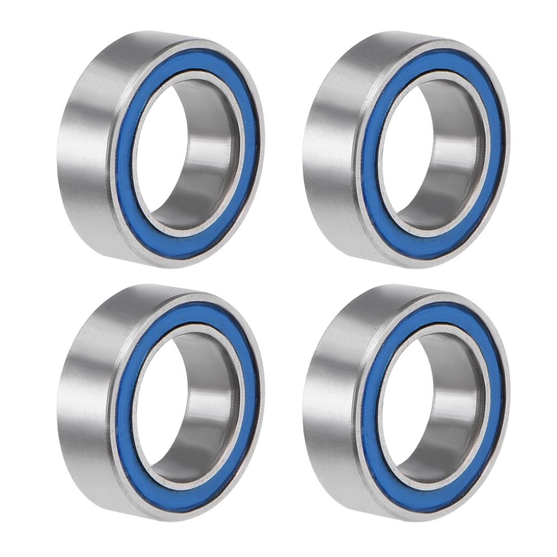 MR85-2RS Ball Bearing 5x8x2.5mm Double Sealed ABEC-3 Bearings 4pcs